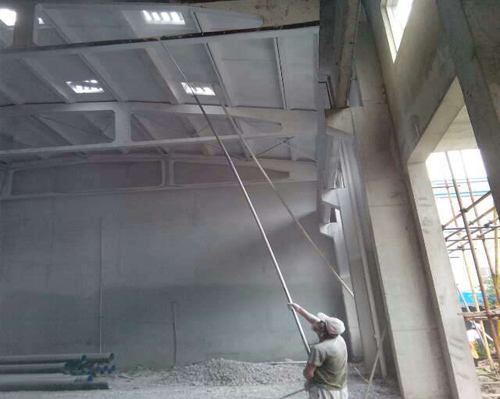 厂房墙体翻新