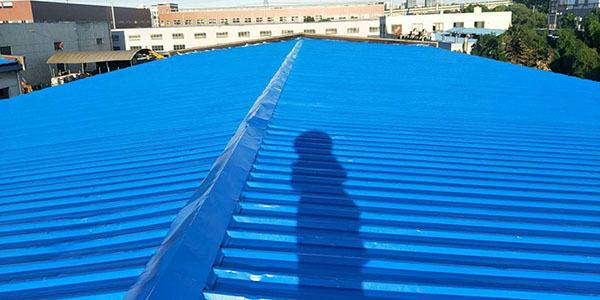 厂房彩钢瓦屋面防水除锈翻新