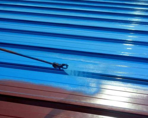 彩钢瓦屋面防水涂装