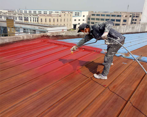 彩钢瓦隔热涂料施工对工厂的作用