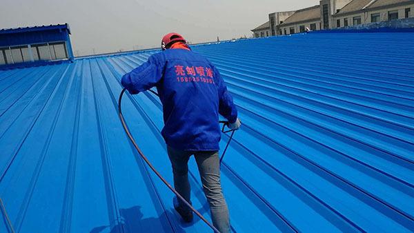 彩钢瓦屋面防水翻新每平方多少钱?