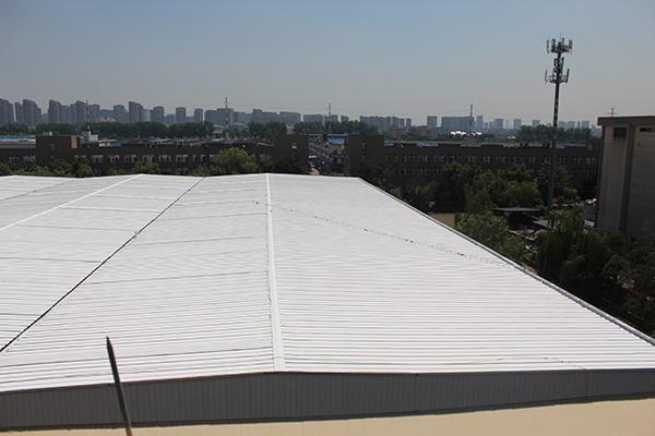 彩钢瓦屋面除锈翻新工艺流程