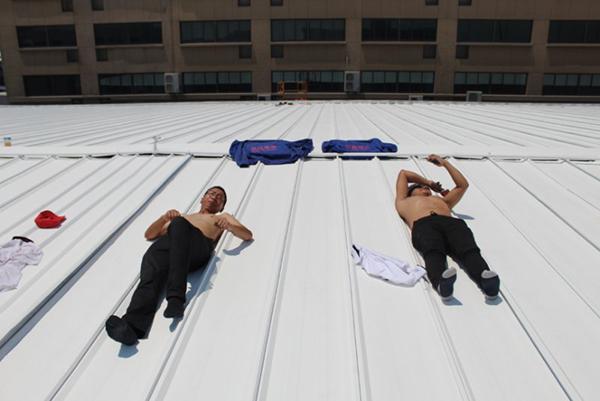屋面彩钢瓦隔热涂料施工每平方多少钱