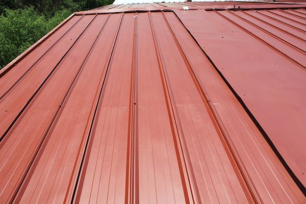 彩钢瓦屋面不同生锈情况的施工方案
