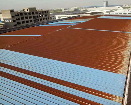工厂彩钢瓦隔热涂装一般室内温度能降多少